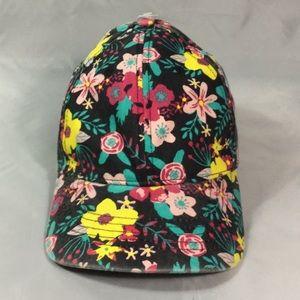 Floral Roadmap Printed Cap